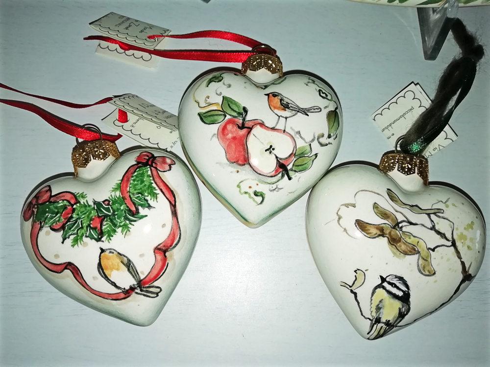Addobbi natalizi a cuore