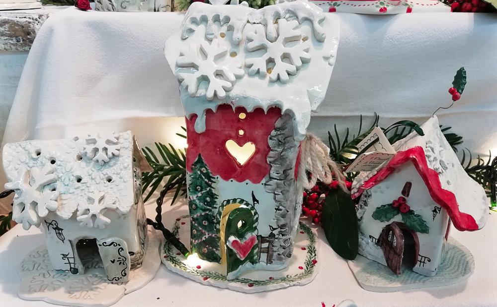 Tre casette di Natale